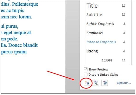 Create a New Custom Style in Microsoft Word