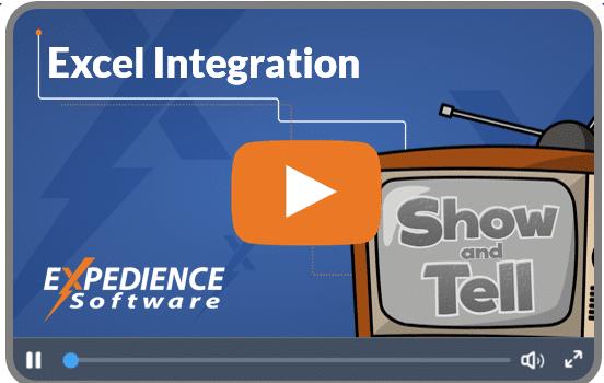 Excel Integration video