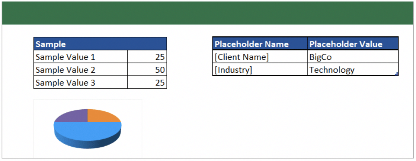 Microsoft Excel is the most common tool used to generate pricing and configuration content for proposals