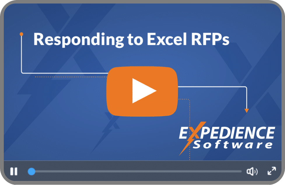 Responding to Excel RFPs