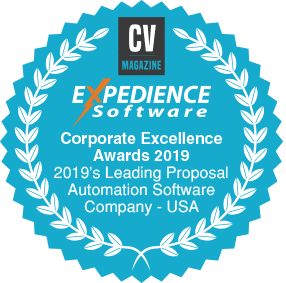 Corporate Excellence Awards 2019 - 2019's Leading Proposal Automation Software Company - USA