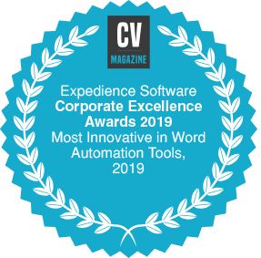 Corporate Excellence Awards - Most Innovative in Word Automation Tools 2019