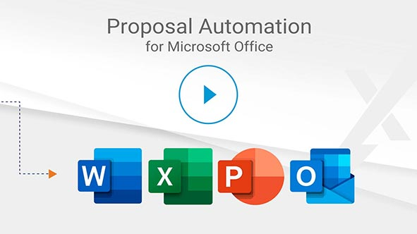 Increase your win rates with the Best RFP Response and Proposal Software built in MS Office