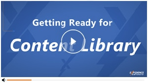 Getting Ready for Content Library