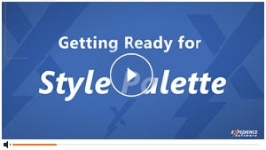 Getting Ready for Style Palette