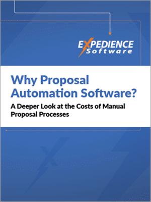 A deeper look at costs of manual proposal processes