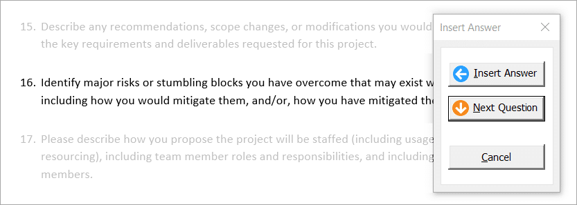 Easy collaboration for your proposal management team