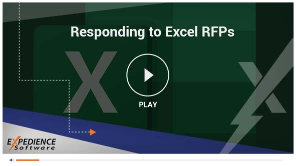 Easy Excel RFP responses using Word's real-time spelling and grammar checking, track changes, and commenting