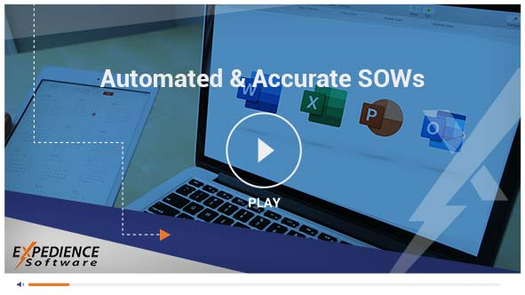 Automate great SOWs proposals even if complex configurations and detailed Excel calculations needed