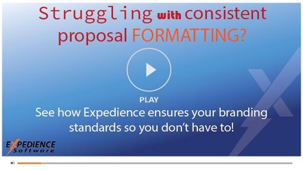 Create professional looking proposals with approved styles and formatting